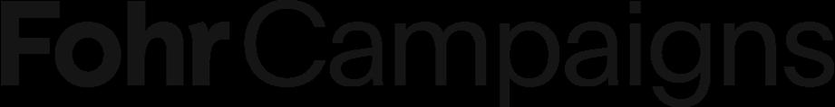 Logo fohr campaigns